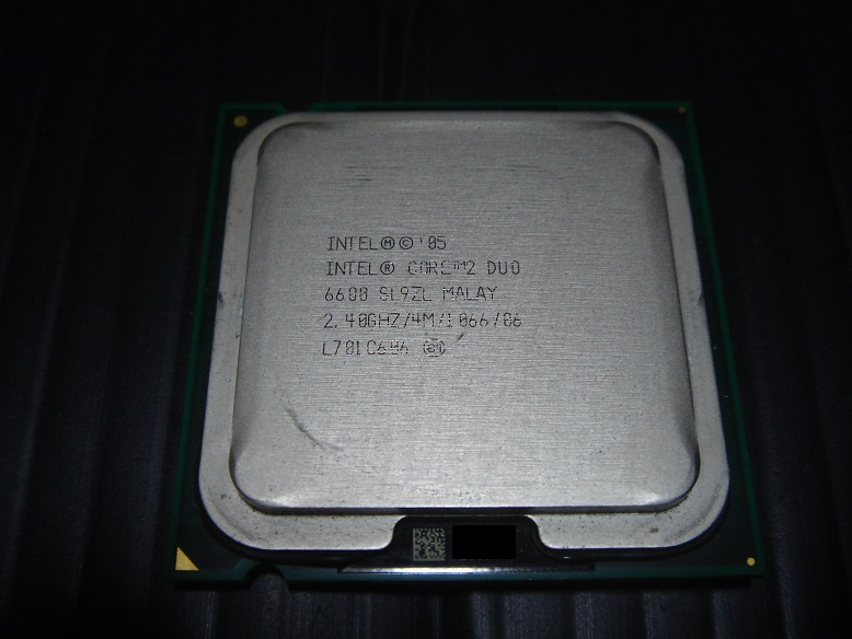 Intel Core 2 Duo E6600(SL9ZL)