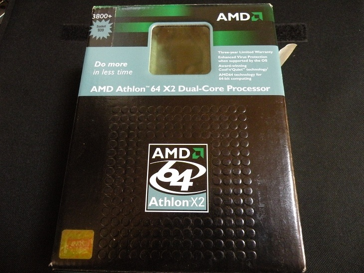 AMD Athlon64X2 3800+ BOX (Socket939)