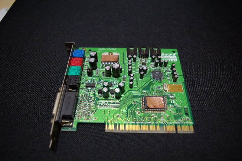 Sound BLASTER PCI128(CT4700)