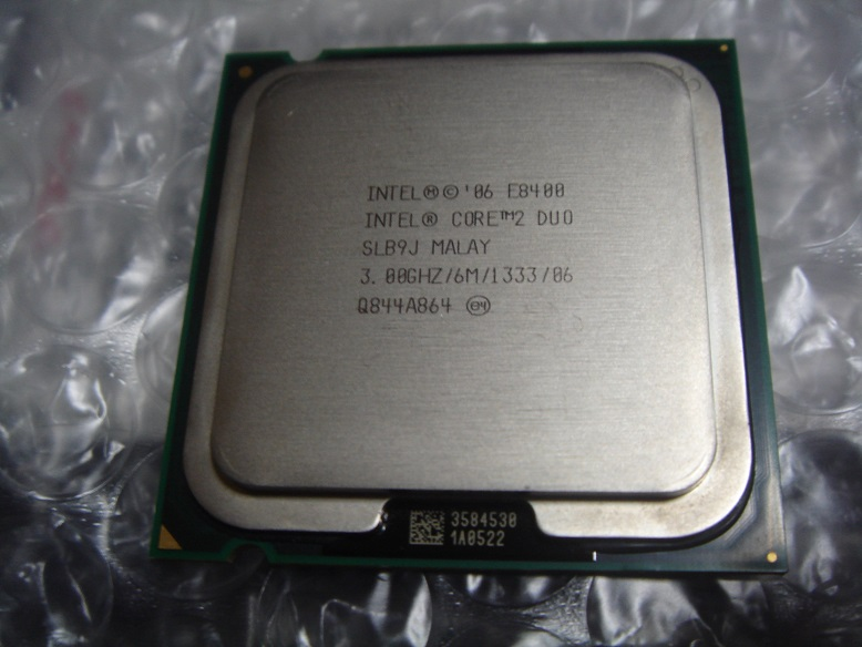 Intel Core 2 Duo E8400 (SLB9J)